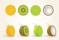 Four Vector Fruits