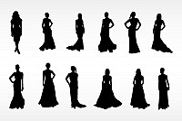 Women Fashion Silhouettes