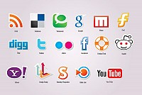Free Vector Social Media Icons Set