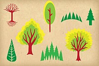 Green Vector Trees