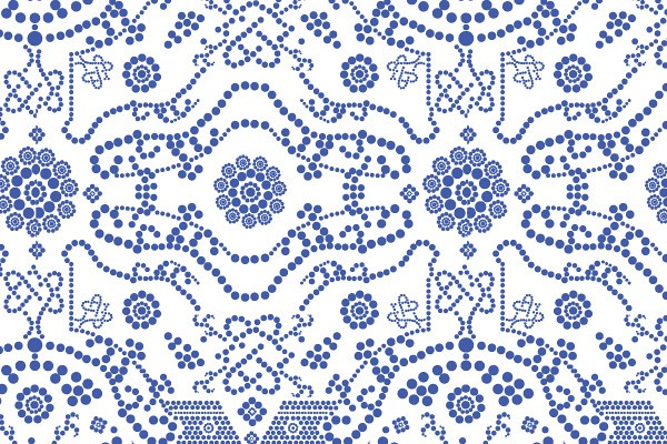 Seamless Dotted Vector Pattern