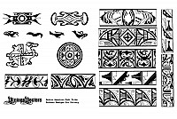 Native American Vector Patterns
