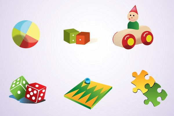 Funny Vector Toys