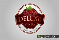 Winery Logo Banner Vector