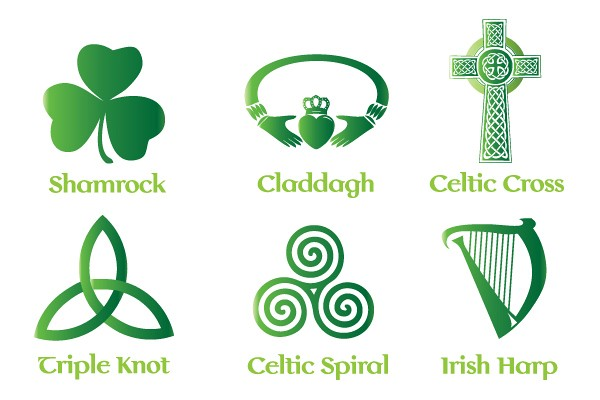 Irish Celtic Vector Symbols Topvectors