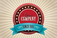 Vintage Logo Badge Vector