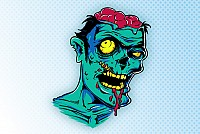 Awesome Free Vector Zombie
