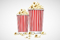 Free Popcorn Vector Illustration