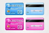 Credit & Debit Card Vector