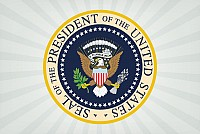 Seal of the President Vector