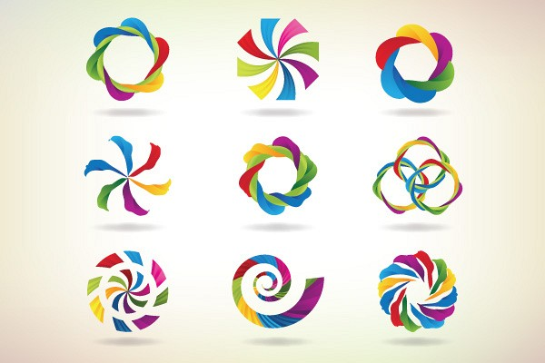 Colorful Vector Logotypes