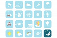 Weather Symbol Icons