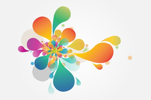 Colrfull Abstract Background Art Vector