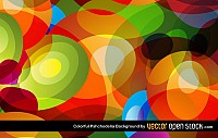 Colorful Psychodelic Vector Background