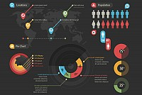 Infographic Vector Objects