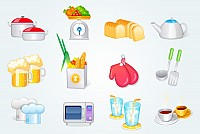 Vector Cooking Icons