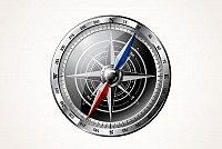 Detailed Vector Compass