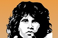 Jim Morrison Vector Portrait