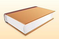 Realistic Book Vector