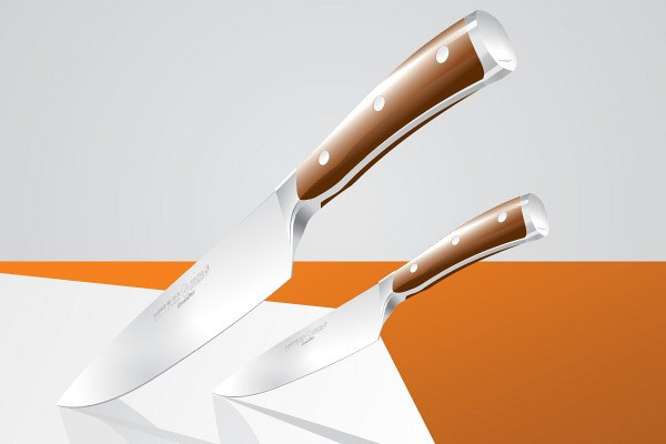 Realistic Knives Vector