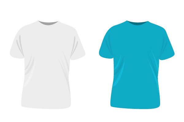 Simple T-Shirt Template Vector | Topvectors.Com