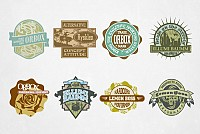 Vintage Logo Designs Vector