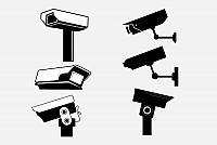 Security Cameras Vector