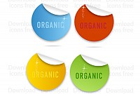 Colored Vector Labels