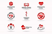 Healthcare Logotype Vector Set