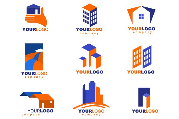 Real Estate Vector Logotypes