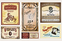 Vintage Vector Labels