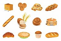 Baking Products Vector
