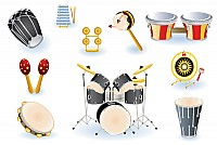 Vector Percussion Instruments