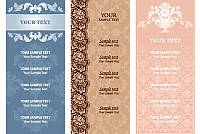 Vintage Menu Vector Template