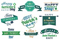St. Patrick's Day Vector Objects