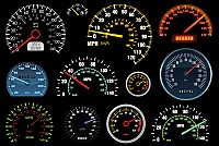 Speedometer Vector Graphics