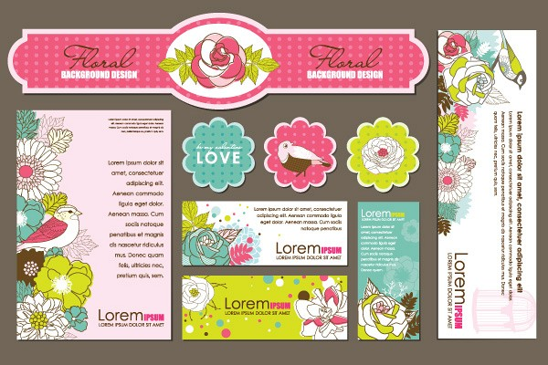 Floral Corporate Identity Template