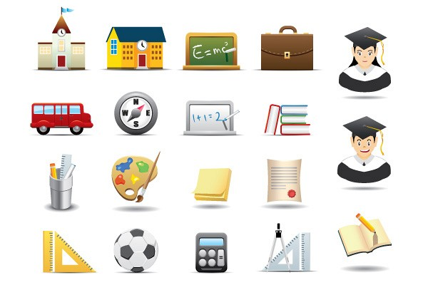 Educational Vector Icons