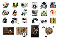 Navigation & Location Vector Icons