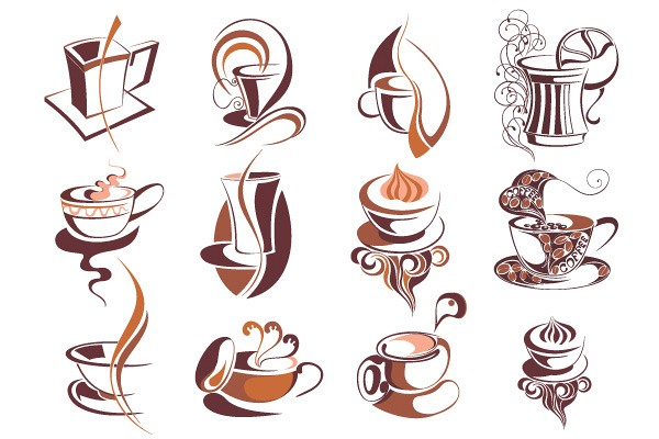 Handcrafted Coffee Illustrations Vector
