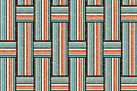 Striped Weave Pattern Vector
