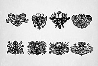 Old Printer�s Ornaments Vector