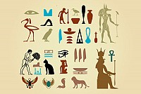 Egyptian Culture Vector Elements