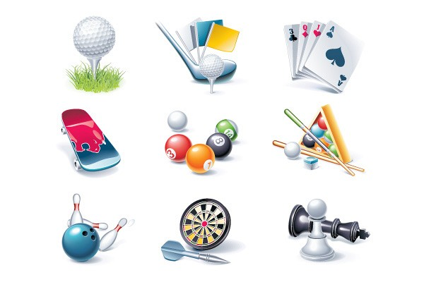 Entertainment Sports Vector Objects