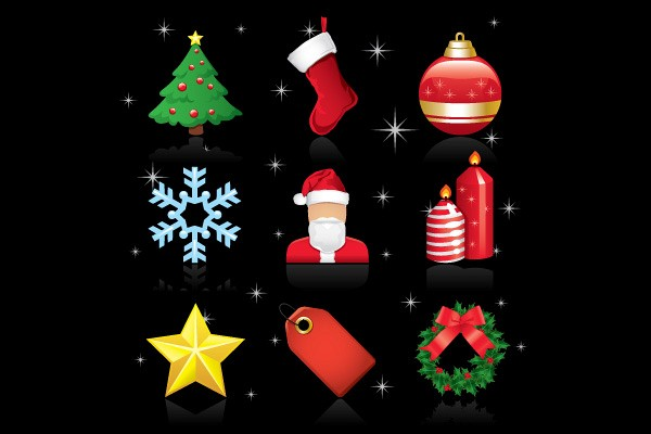 Vector Christmas Ornaments