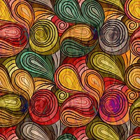 Abstract Spiral Vector Background Pattern