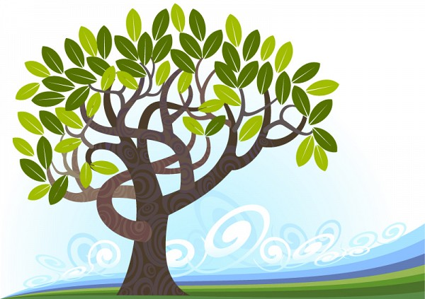 Awesome Vector Tree
