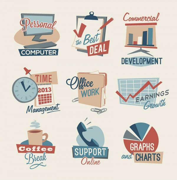 Office & Workplace Vector Icons