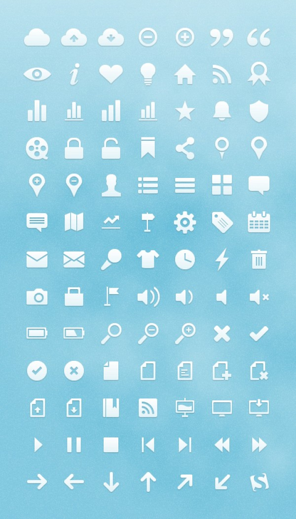 Vector User Interface Icons