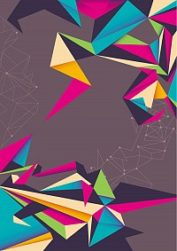 Colorful Origami Vector Background